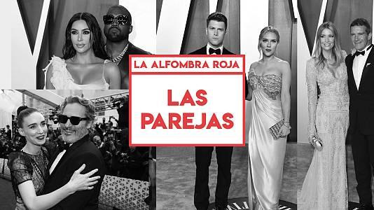 Premios Oscar 2020: Las parejas de la alfombra roja