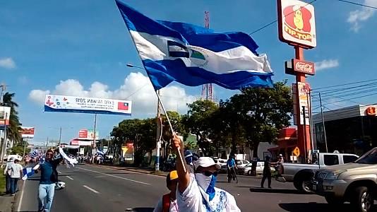Trailer del documental 'Nicaragua, una patria libre para vivir, la insurrección de los nietos de la revolución sandinista'