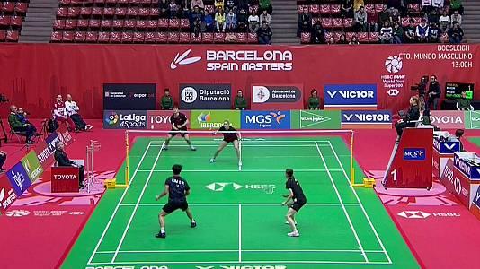 Barcelona Spain Masters Semifinal Doble Mixto