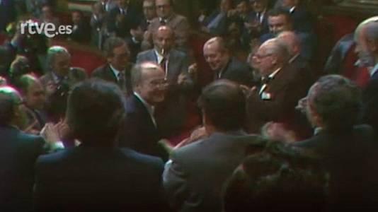 Heribert Barrera és escollit president del Parlament