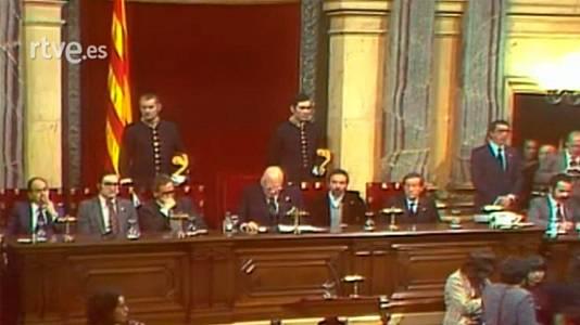 Parlament de Catalunya: Primera Sessió de Constitució