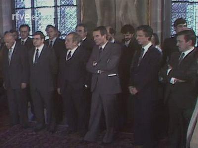 Presa de possessió del primer govern de la Generalitat 1980