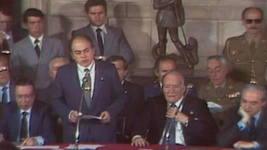 Presa de possessió de Jordi Pujol com a President 1980