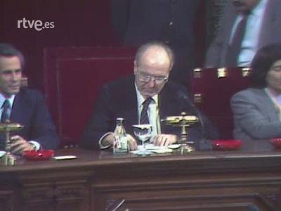 Parlament de Catalunya: 1a sessió Debat d'Investidura 1980