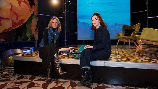 La cantant Núria Graham i l'escriptor Javier Cercas