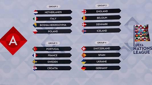 Programa Sorteo UEFA Nations League