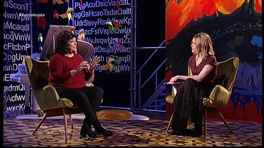 L'escriptora Almudena Grandes i la cantant Suu