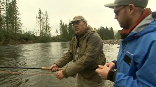 En busca del salmón noruego