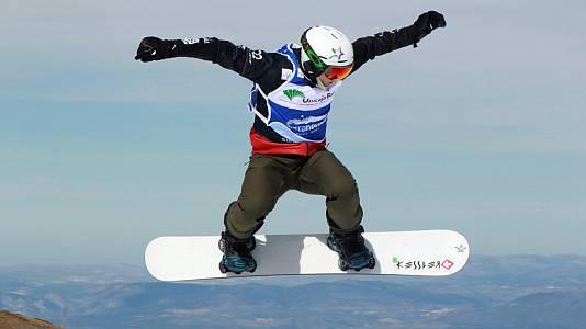 Copa del mundo 2019/20.Finales Snowboard Cross.Sierra Nevada