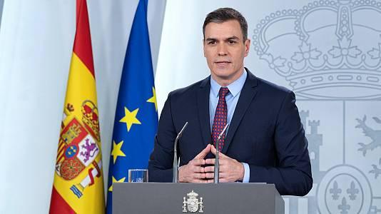 Especial Informativo - Rueda de prensa del presidente del Gobierno, Pedro Sánchez