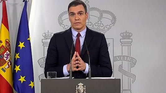 Especial Informativo - Declaración institucional del presidente del Gobierno Pedro Sánchez