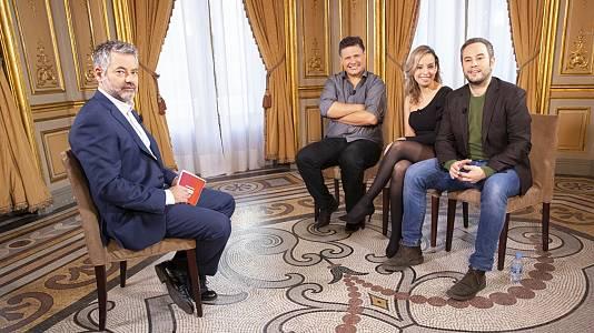 Magos: Jorge Blass, Juan Esteban Varela, Dania Díaz