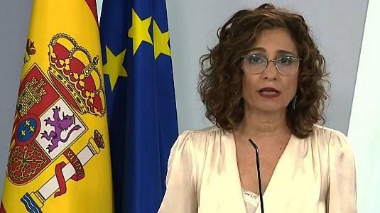 Coronavirus - Rueda de prensa del Consejo de Ministros