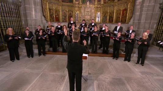 Coro de la RTVE desde la Catedral de Ávila