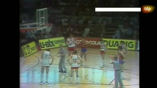 Baloncesto -Semifinal Eurobasket 1983: Nantes. España - URSS