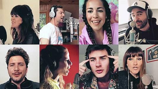 Manuel Carrasco, Rozalén, Bisbal y otros músicos se unen para cantar 'Resistiré' contra el coronavirus
