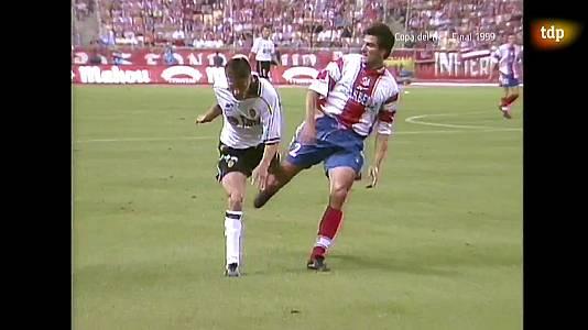 Fútbol. Final de la Copa del Rey 1999: Valencia - A. Madrid