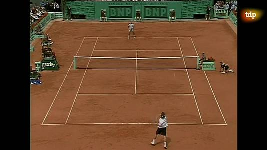 Tenis - Final Copa Masters 1998: Álex Corretja - Carlos Moyà