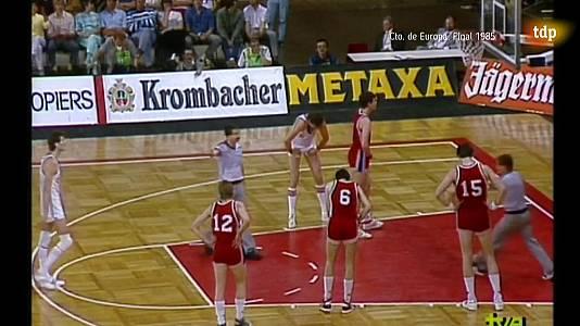 Baloncesto - Final Eurobasket 1985: URSS - Checoslovaquia