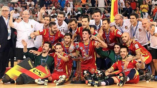 Hockey patines - Final Cto de Europa 2000: España - Portugal