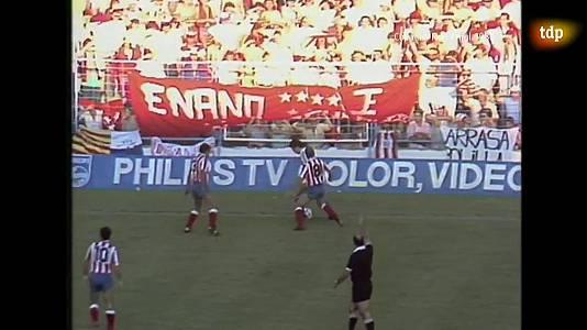 Fútbol. Final Copa del Rey 1987: Real Sociedad - At. Madrid