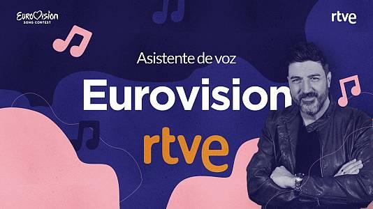 Recibe la última hora de Eurovisión a través del nuevo asistente de voz de RTVE