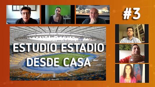 Estudio Estadio desde casa, programa 3: El nuevo calendario del fútbol