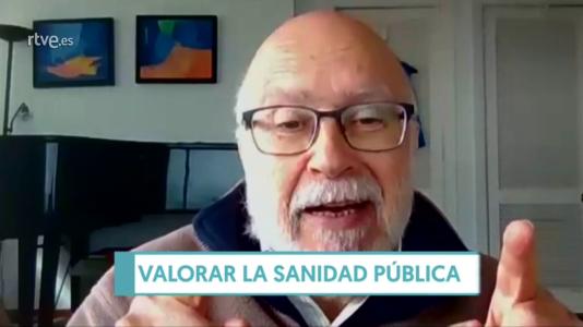 """Manuel Toharia: """"Los profesionales sanitarios cobran sueldos miserables"""""""