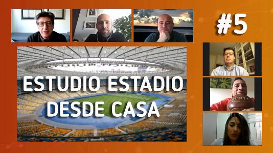 Estudio Estadio desde casa, programa 5: Entrenar o no entrenar