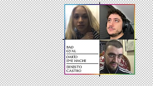 OK Playz con Bad Gyal, Darío Eme Hache y Ernesto Castro