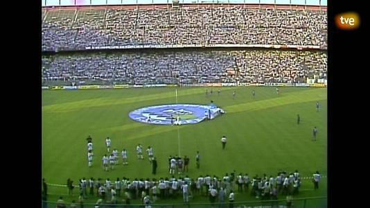 Fútbol - Final Copa del Rey 1989: R. Madrid - R. Valladolid