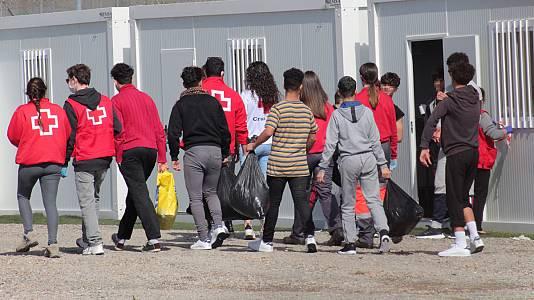 La cuarentena de la migración desborda a Ceuta