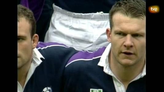 Rugby - Campeonato del Mundo 1999: España - Escocia.