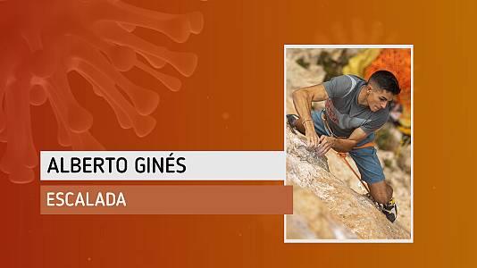"""Alberto Ginés: """"Me está resultando difícil encontrar la motivación para entrenar"""""""