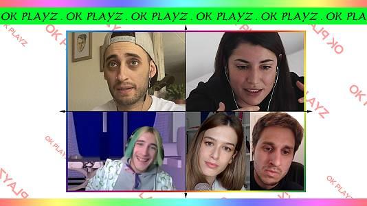 OK Playz con Blon, Alba Paul y Pedro LaDroga