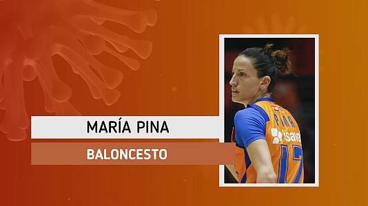 """María Pina: """"Habrña un antes y un depués de todo esto"""""""