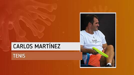 """Carlos Martínez: """"Soy un desastre tecnológico pero he aprendido a utilizar nuevas aplicaciones"""""""