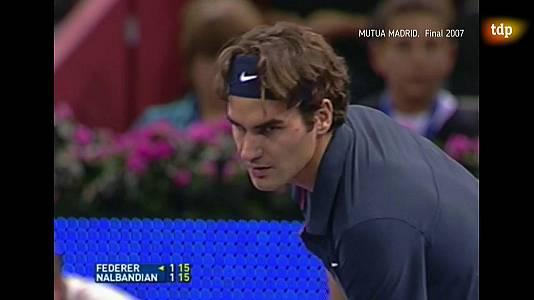 Tenis - Final Mutua Madrid Masters 2007: Nalbandián-Federer