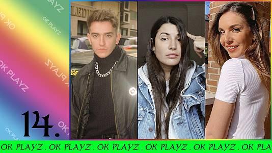 OK Playz con Recycled J, Inés Hernand y Alba Paul