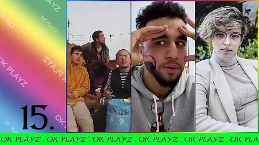 OK Playz con Stay Homas, Hamza Zaidi y Elizabeth Duval