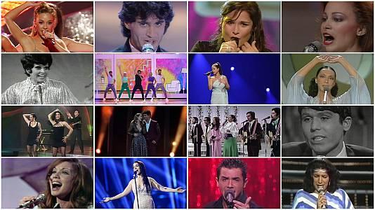 Españavisión recoge la historia de España en el Festival