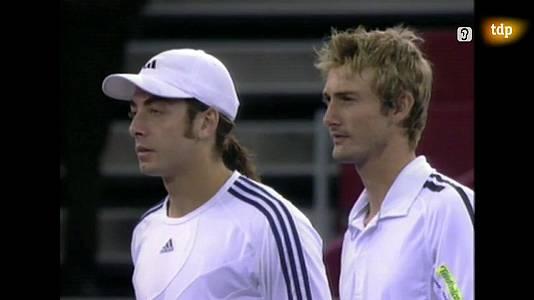 Tenis - Final Mutua Madrid 2003: J. C. Ferrero - N. Massú