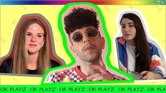 OK Playz con Bejo, María Rosenfeldt y Alba Paul