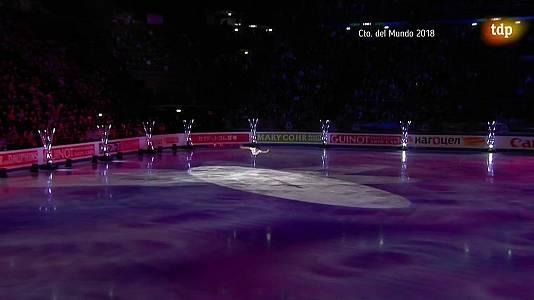 Patinaje artístico -  Campeonato del Mundo 2018, en Milán - Gala de Exhibición (2ª parte).