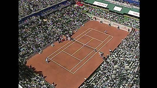 Tenis - Final Trofeo Conde de Godó 1999: Félix Mantilla-Karim Alami.