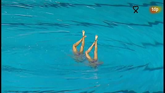 Natación Sincronizada - Campeonato del Mundo 2007, en Melbourne - Final Duo Libre