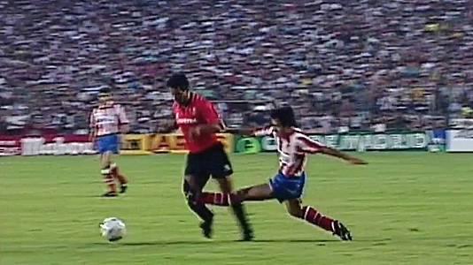 Copa del Rey 1991. Atlético de Madrid - Real Mallorca