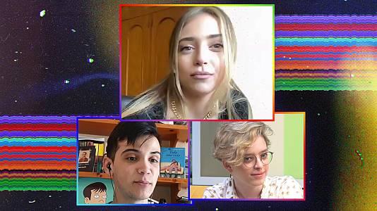 OK Playz con Ana Mena, Elizabeth Duval y Dave Zulueta