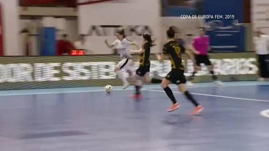 Fútbol Sala - Copa de Europa femenina 2019. Final: Jimbee Roldan - Kick Off