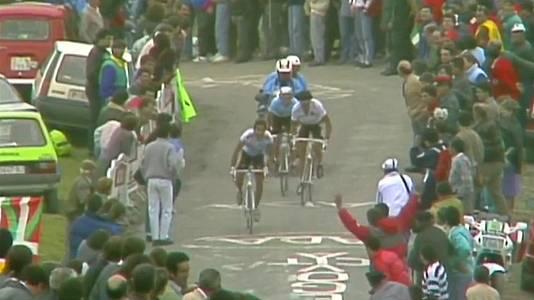 Ciclismo - Vuelta a España 1989. 16ª etapa: Santoña - Lagos de Covadonga